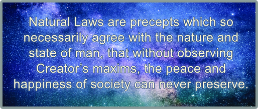 Natural law definition