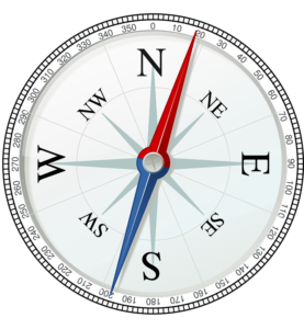 Navigation Compass - Natural versus artificial law - which way?