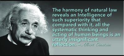 Einstein Quotation hits at Ius Naturale