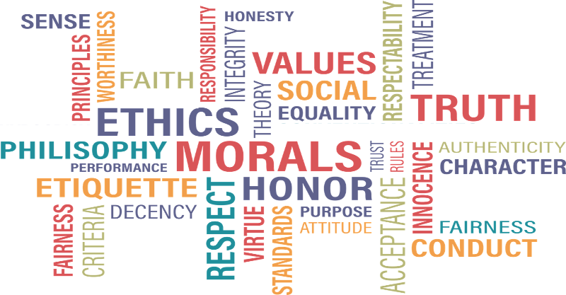 Natural law morality embraces many virtues