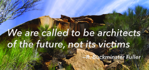 Quote Buckminster Fuller, re natural law ethics.
